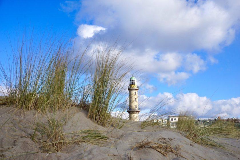 Warnemünde Strand, Leuchtturm