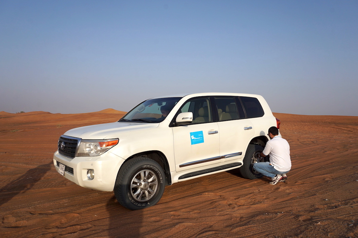 Wüstensafari Dubai mit kindern