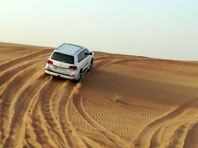 Wüstensafari Dubai mit Kindern, Jeeptour Dünen