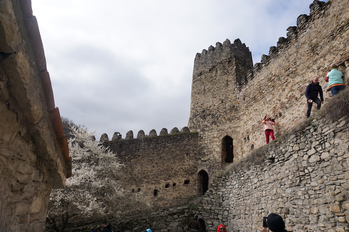 Festung Ananuri, Georgien