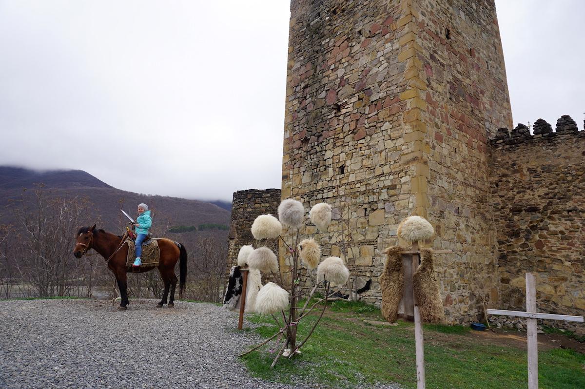 Festung Ananuri, Heerstraße Georgien