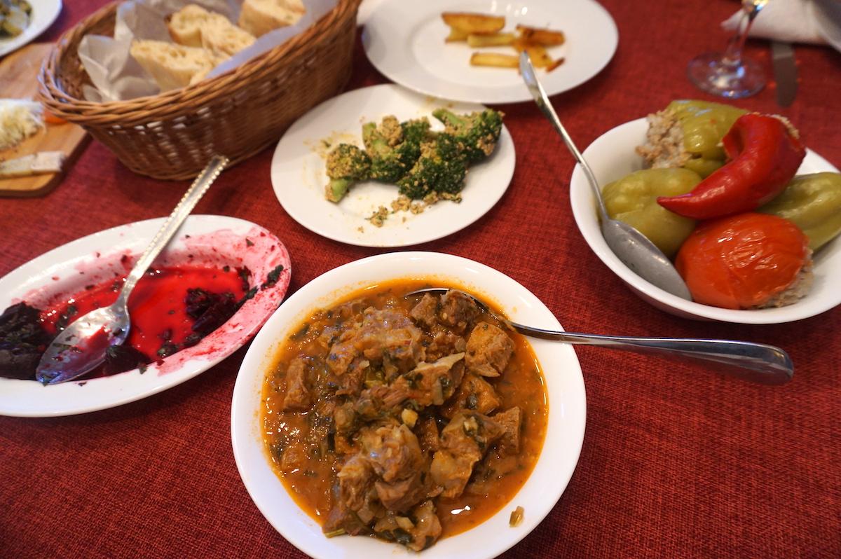 Georgien, Tbilisi, Georgische Küche