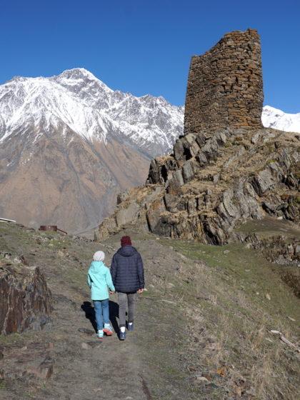 Georgien Wanderung Kaukasus