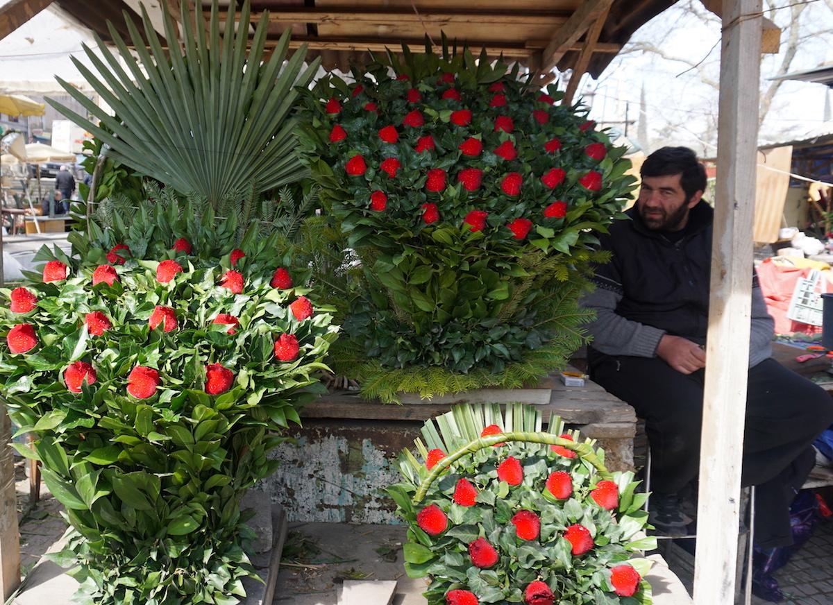 Tbilisi Blumenmarkt