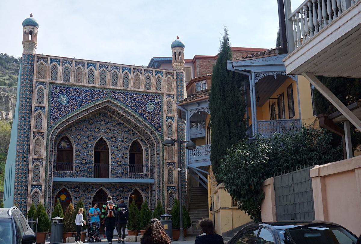Tbilisi, Buntes Bad, Abanotubani, Bäderviertel
