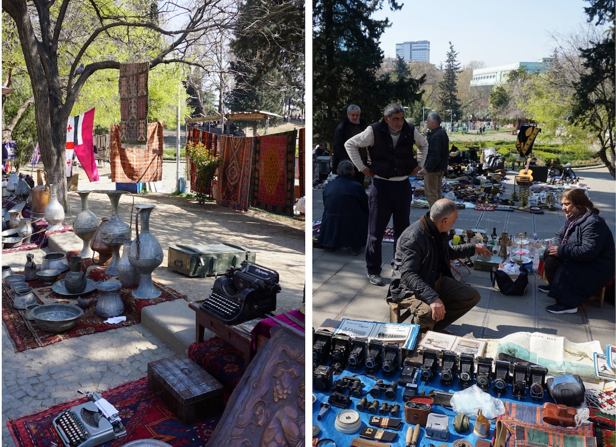 Tbilisi Flohmarkt
