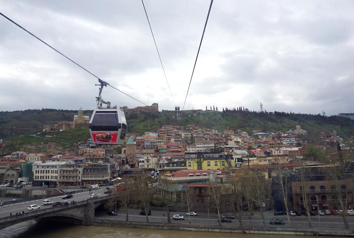 Tbilisi (Tiflis) Seilbahn