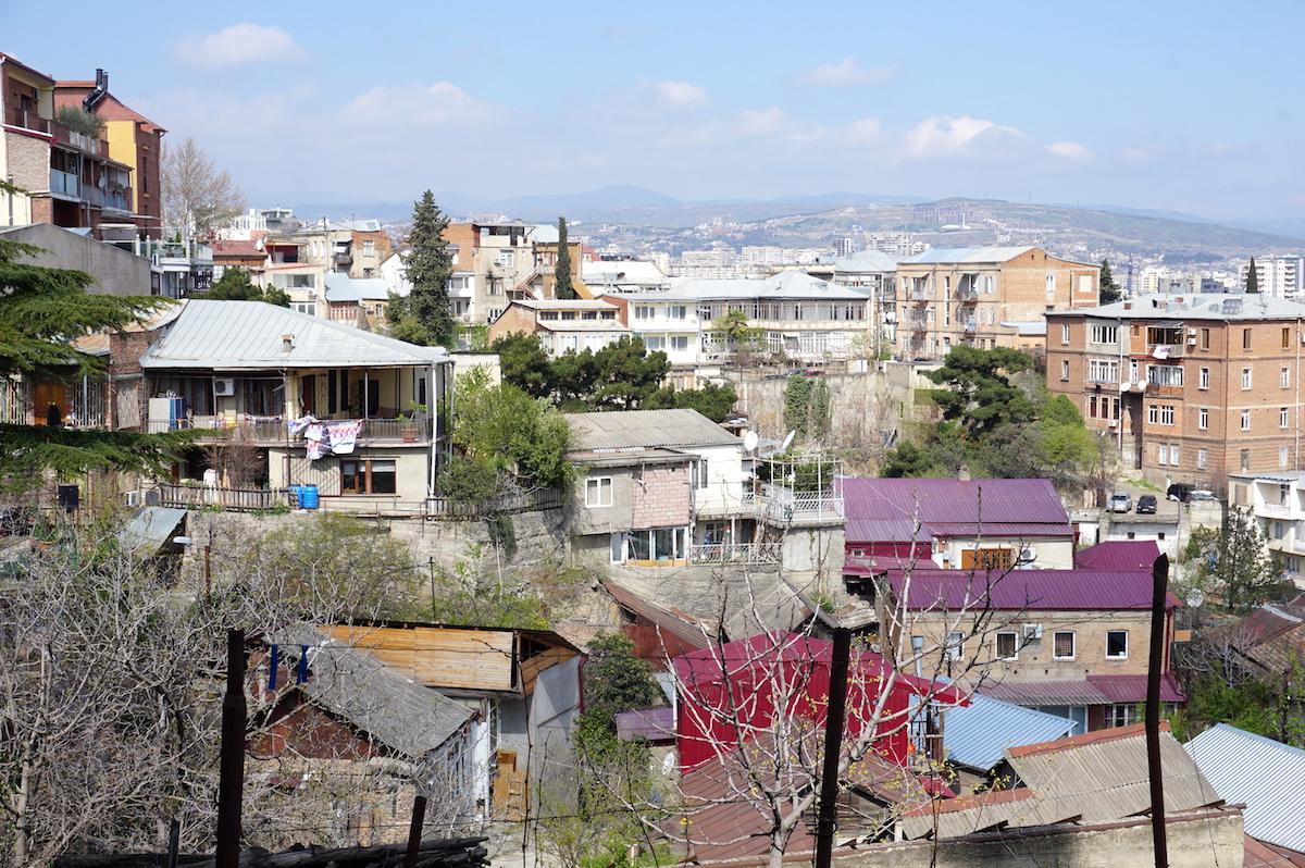Tiflis Hotel Suliko_Blick vom Balkon