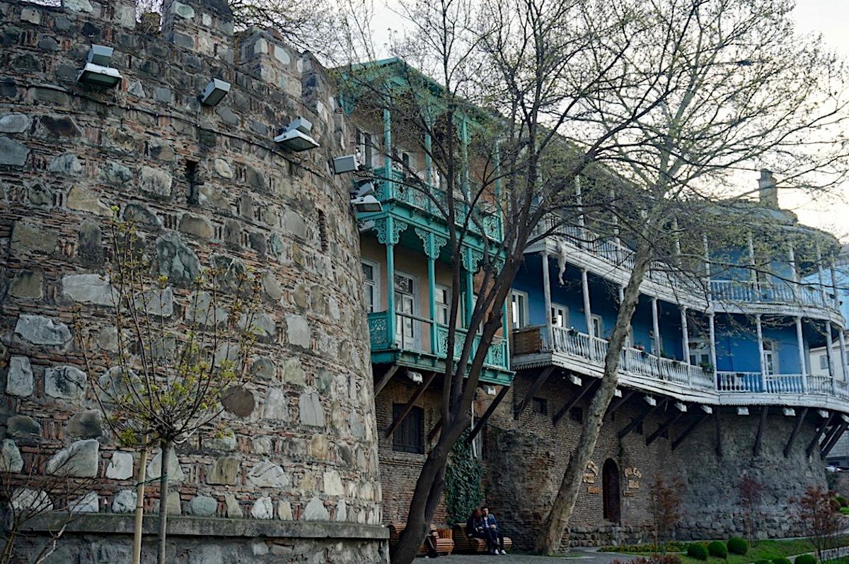 Tiflis Stadtmauer