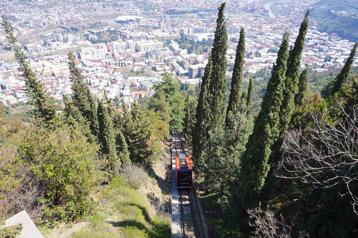 Tiflis Zahnradbahn Mtatsminda Park