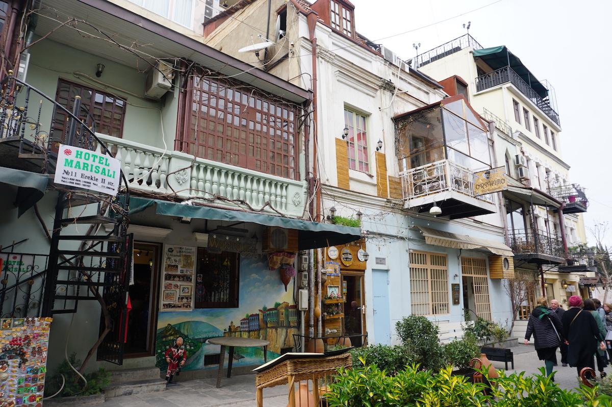 Tbilisi Altstadt, Georgien