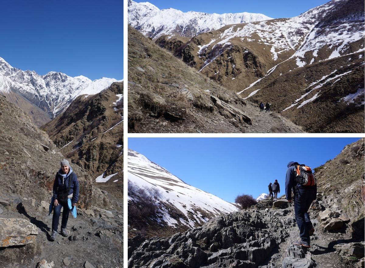 Georgien, Wandern im Kaukasus
