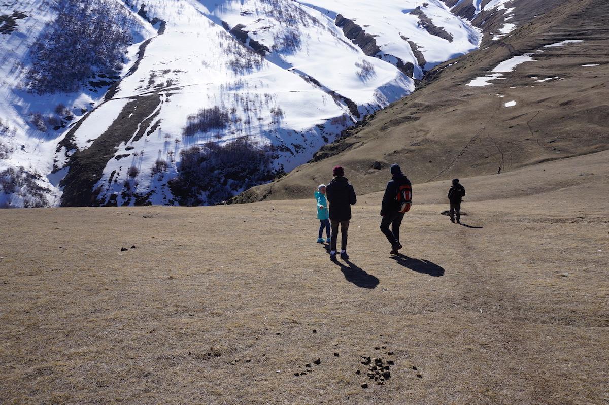 Kaukasus Wandern, Kvemi Mta