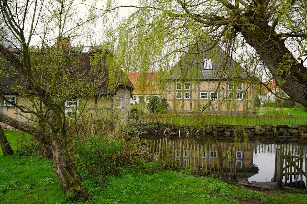 Ostseehof Langfeld, der Ententeich