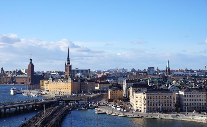 Stockholm, Blick auf die gamla stan