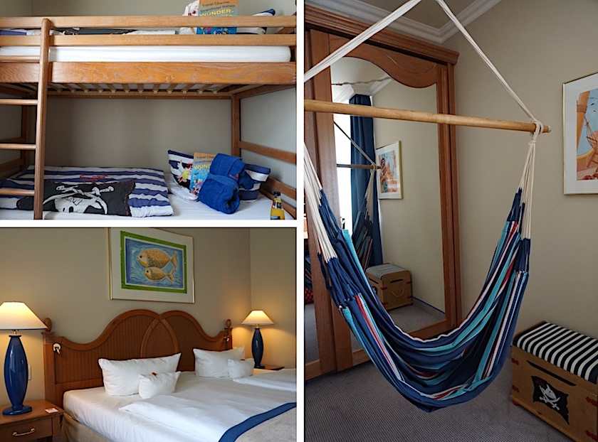 Familienurlaub Usedom Travel Charme Strandhotel Bansin, Familiensuite