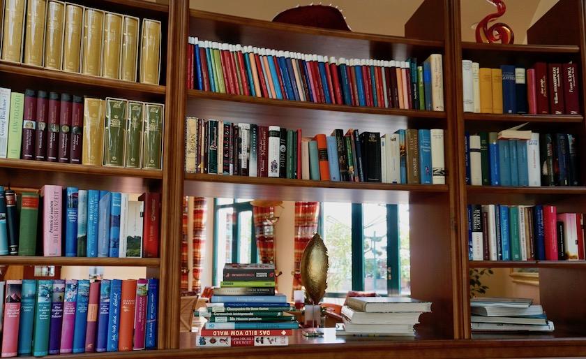 Travel Charme Strandhotel Bansin, für Leseratten
