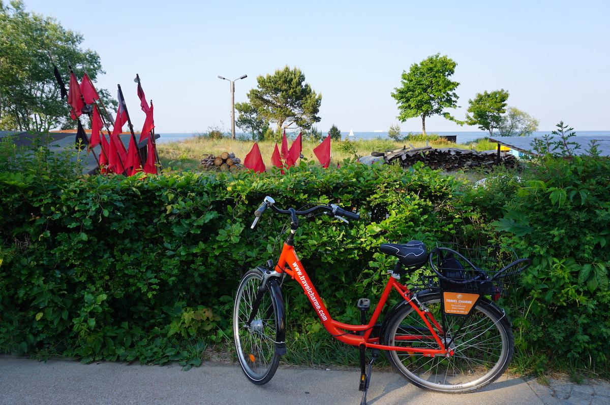 Usedom, Fahrradtour Bansin nach Ahlbeck