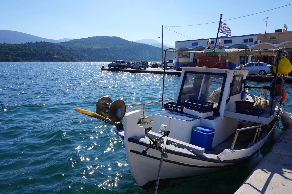 Kefalonia, Hafen von Argostoli