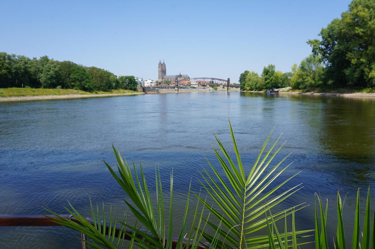 Magdeburg Elbe-Floßfahrt