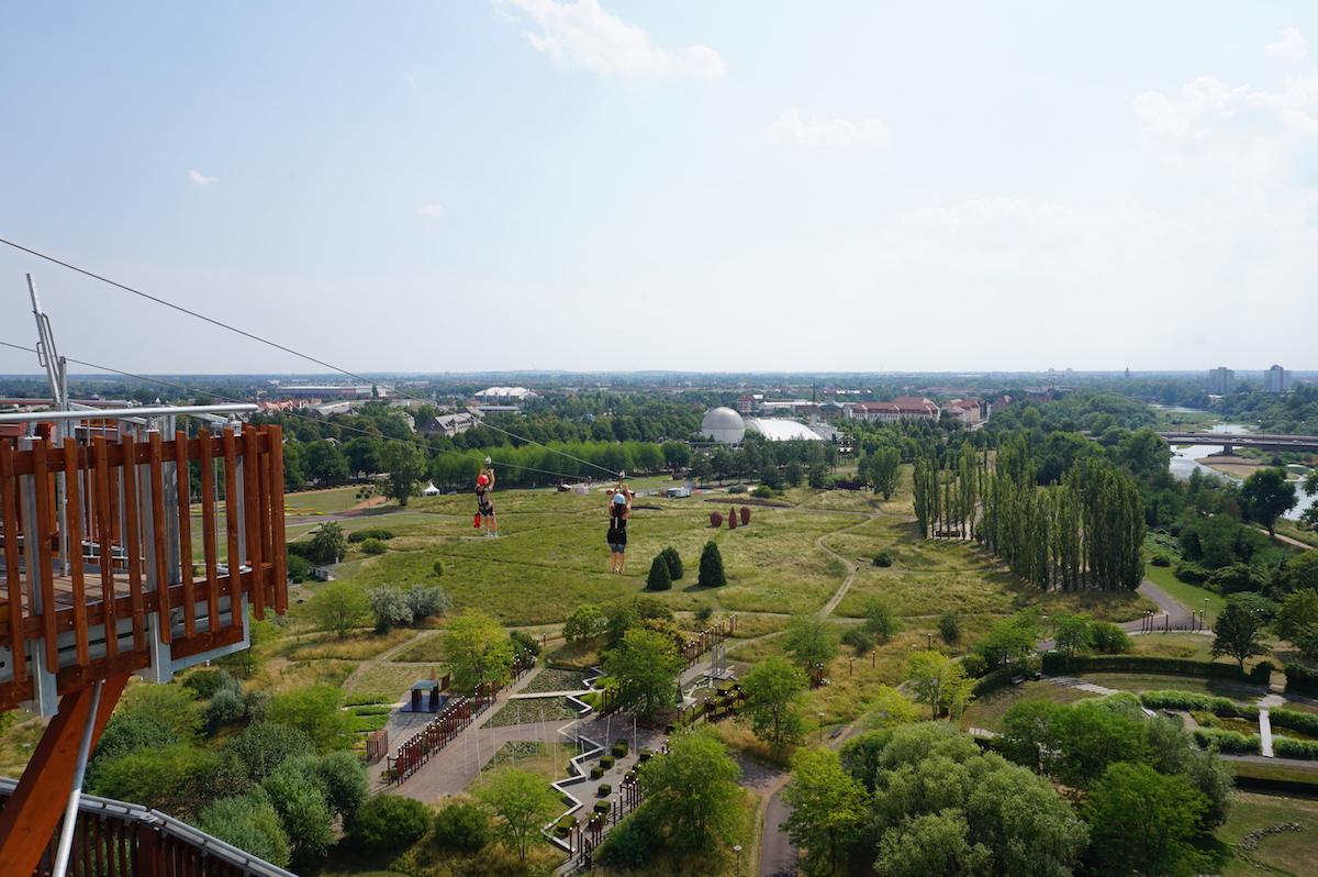 Magdeburg ZipLine Elbauenpark