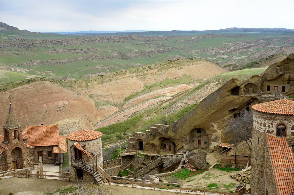 Georgien, Davit Gareja Lavra-Kloster und Höhlenwohnungen