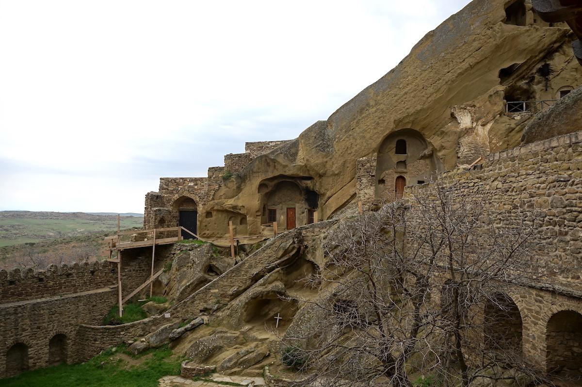Georgien, Kloster Davit Gareja Höhlenwohnungen