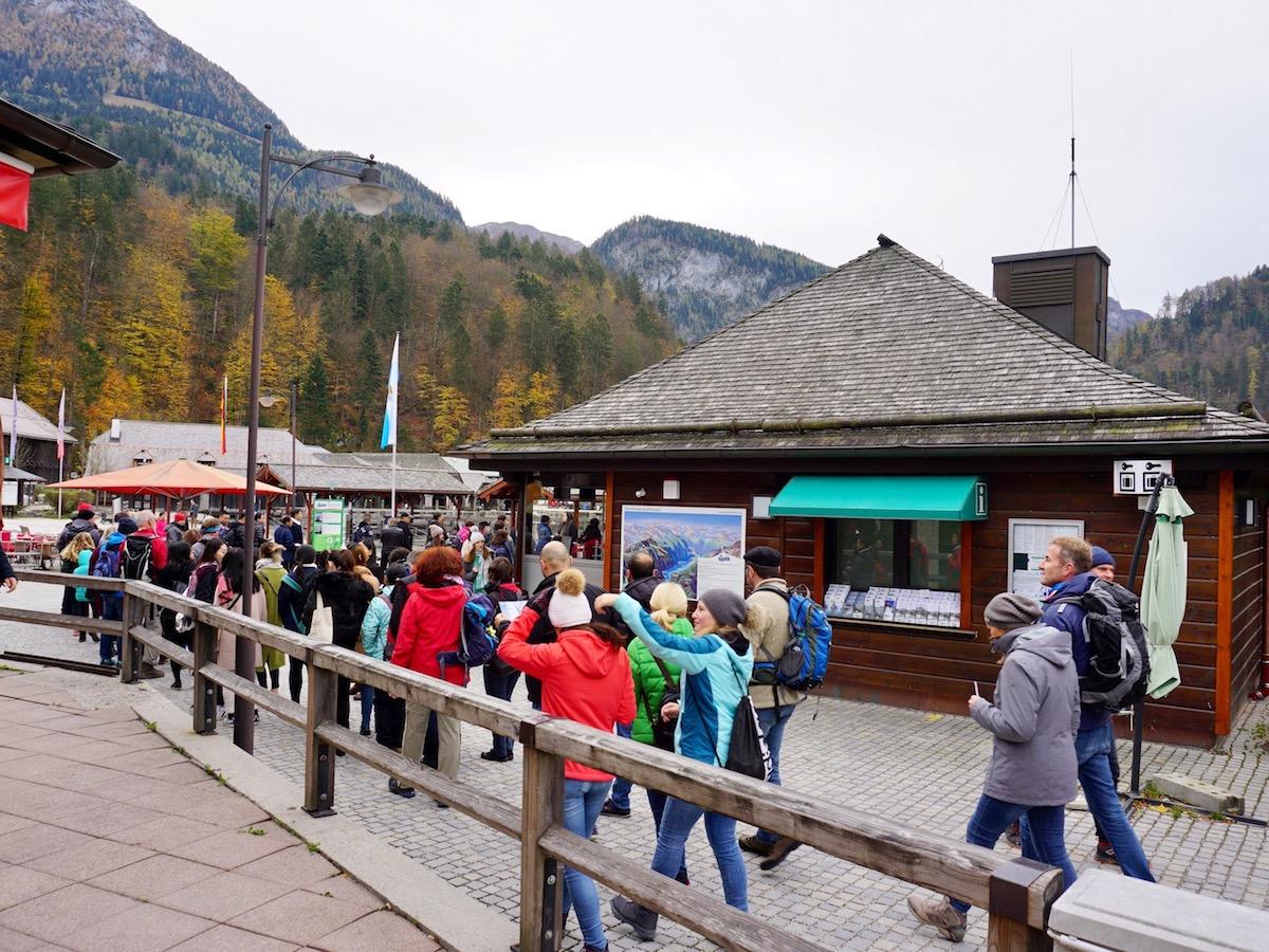 Königssee Bayern Bootsanleger