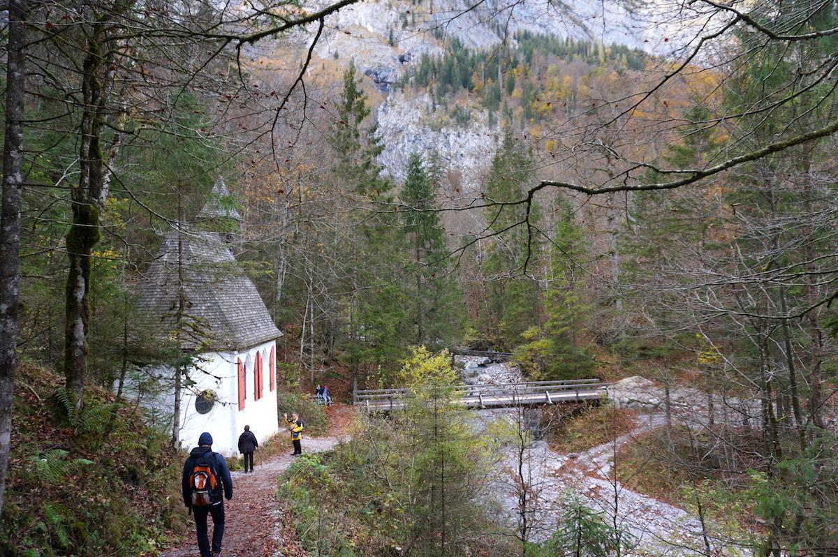Kapelle St. Johann und Paul, Watzmann Wanderung vom Königssee