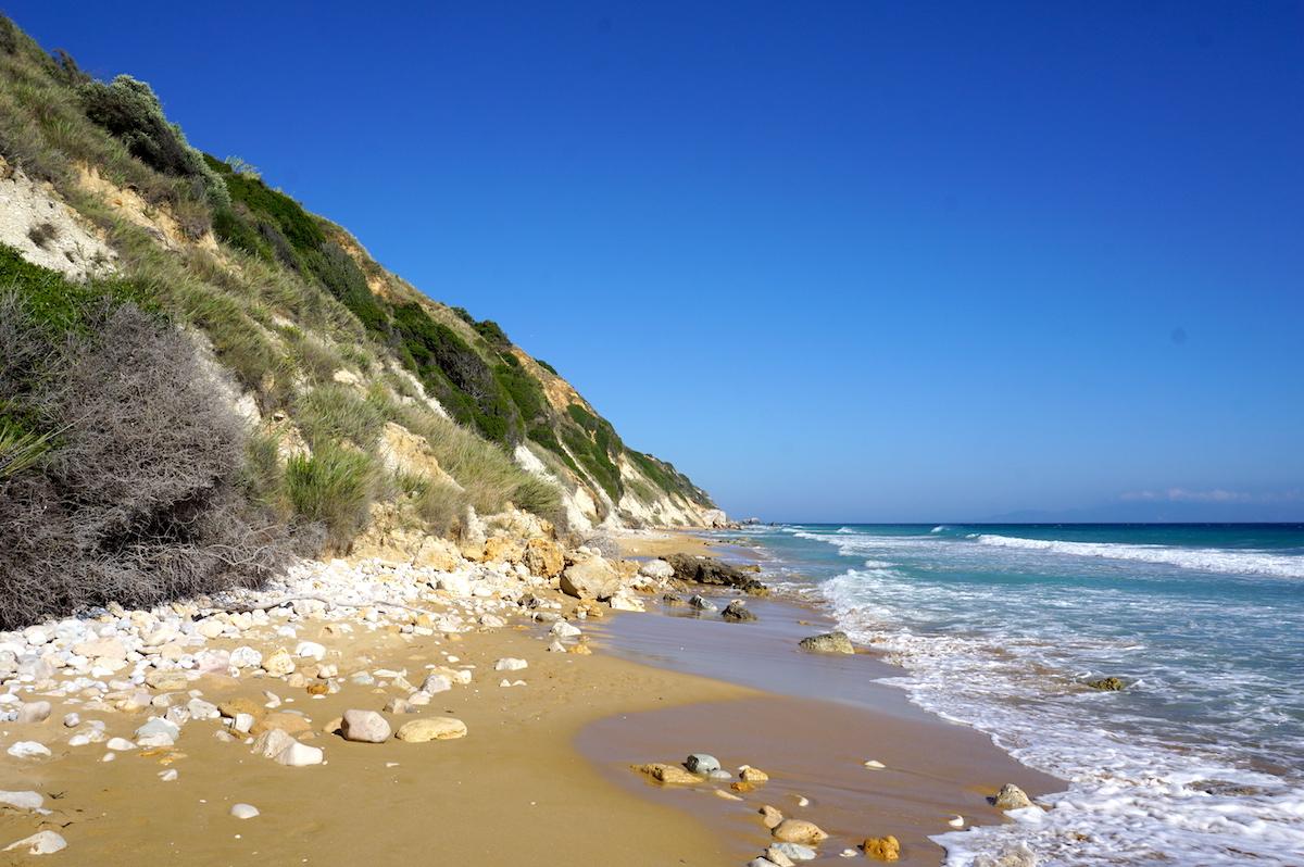 Kefalonia-Urlaub, Avithos Strand