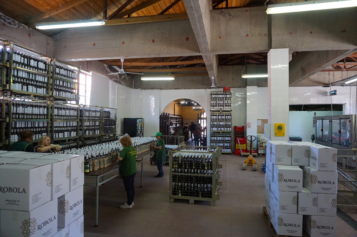 Kefalonia-Urlaub, Robola Wein