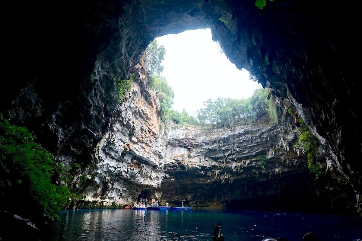 Kefalonia Melissani Höhle