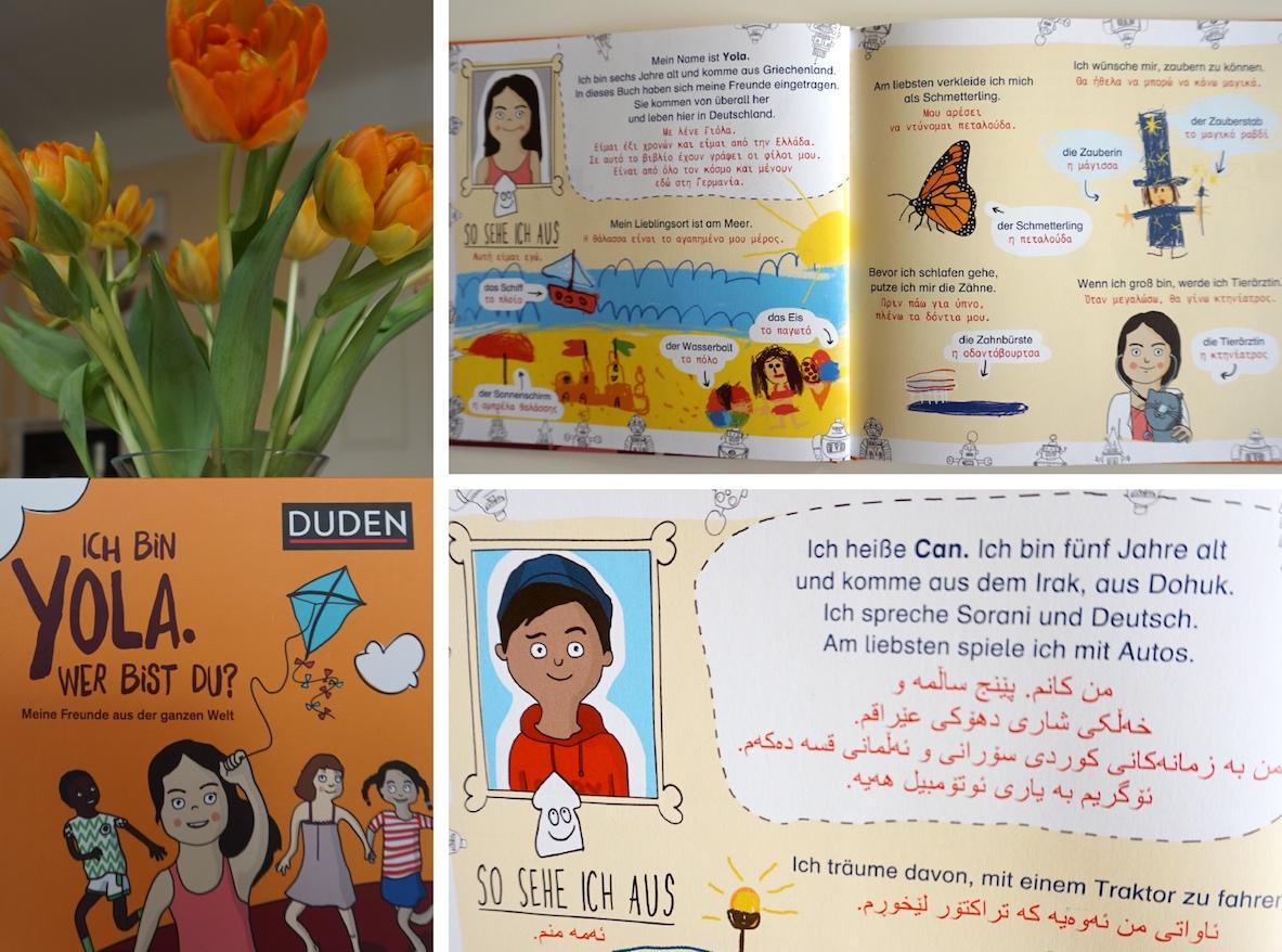 Kinderbuch Ich bin Yola. Wer bist du?