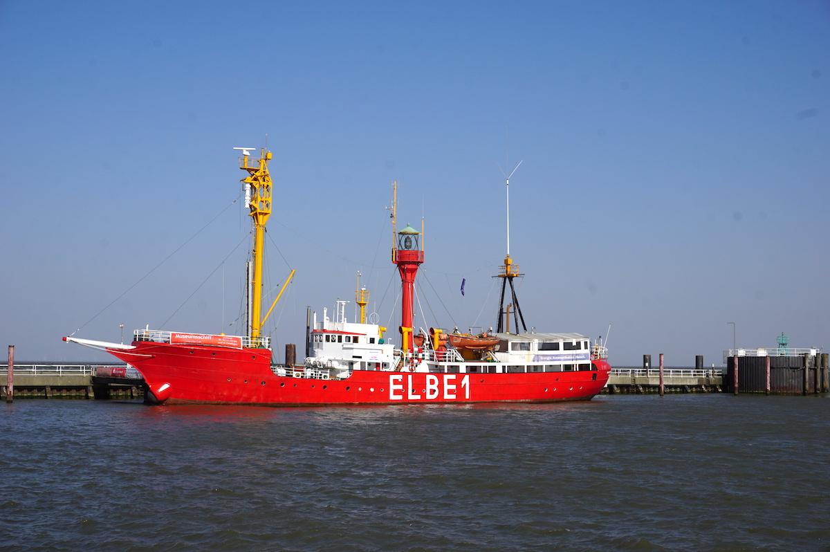 Cuxhaven, Hafenrundfahrt