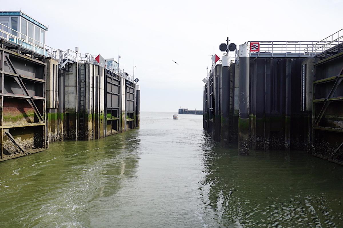 Cuxhaven Sturmfluttor