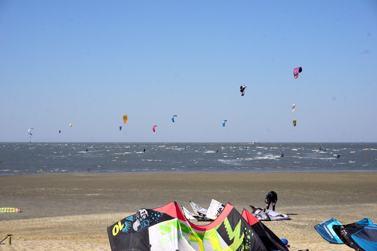 Familienurlaub Cuxhaven Kitesurfen