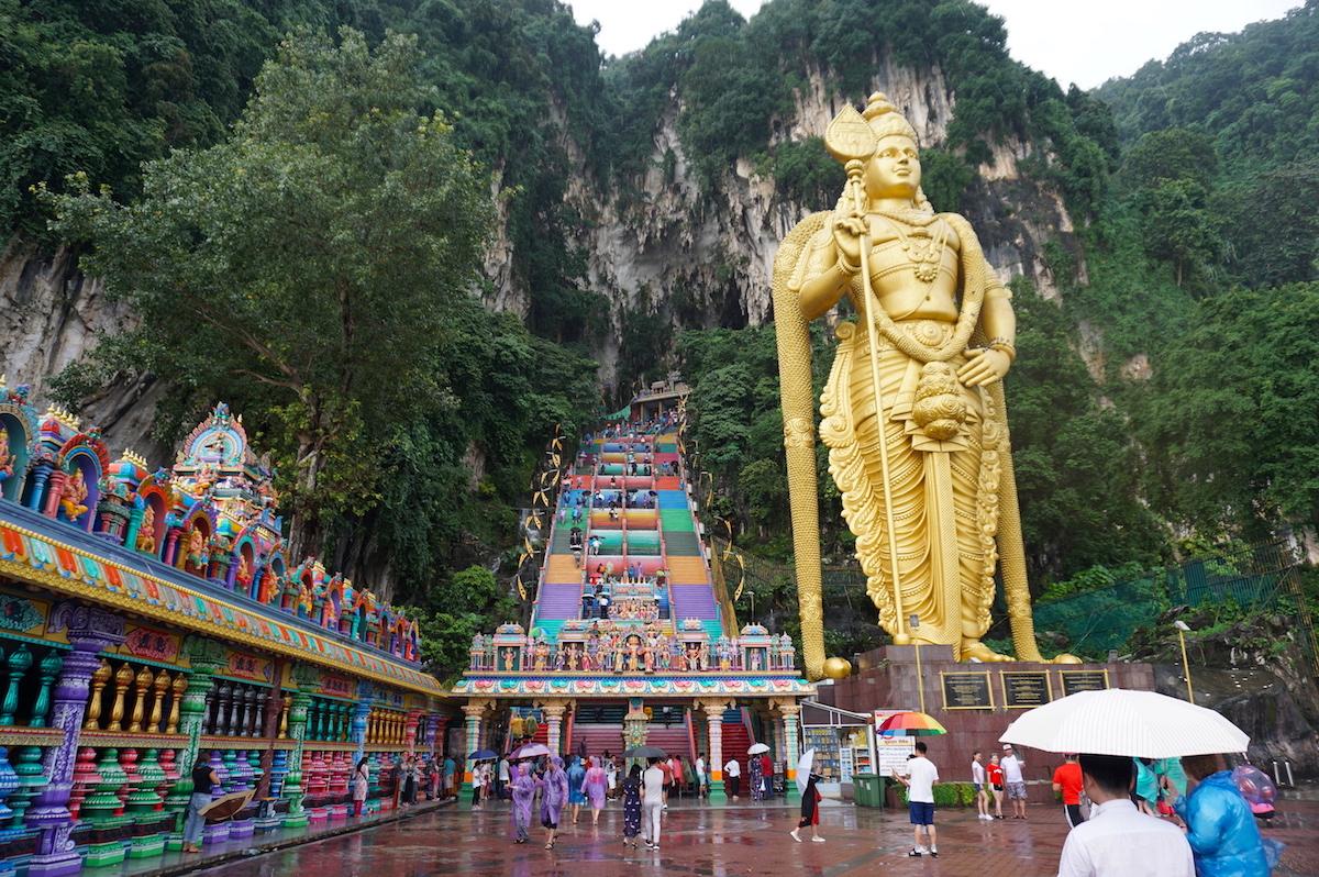 Malaysia, Kuala Lumpur Batu Caves