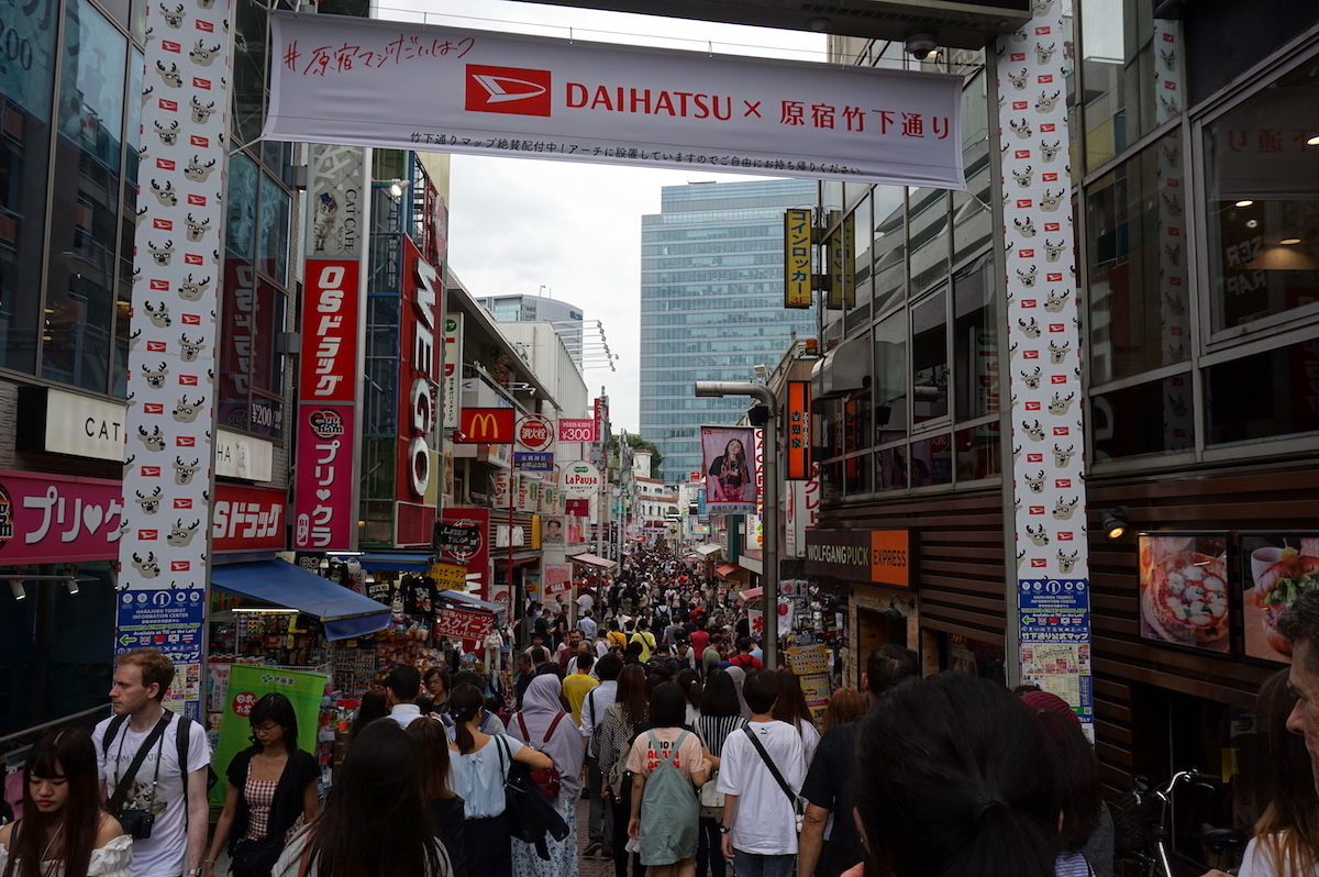 Takeshita Street, Tokio, Japan, Tokio mit Teenager