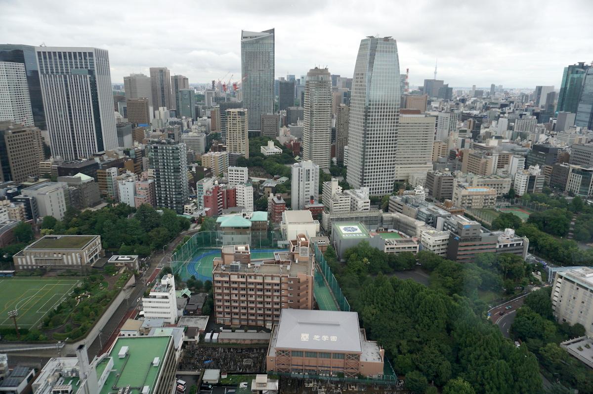 Tokio Blick vom Tokio Tower