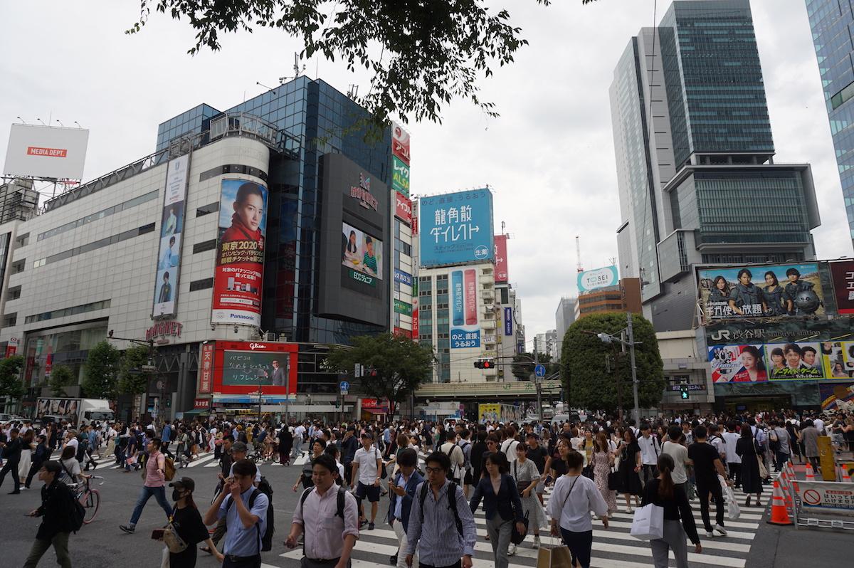 Tokio, Shibuya Kreuzung