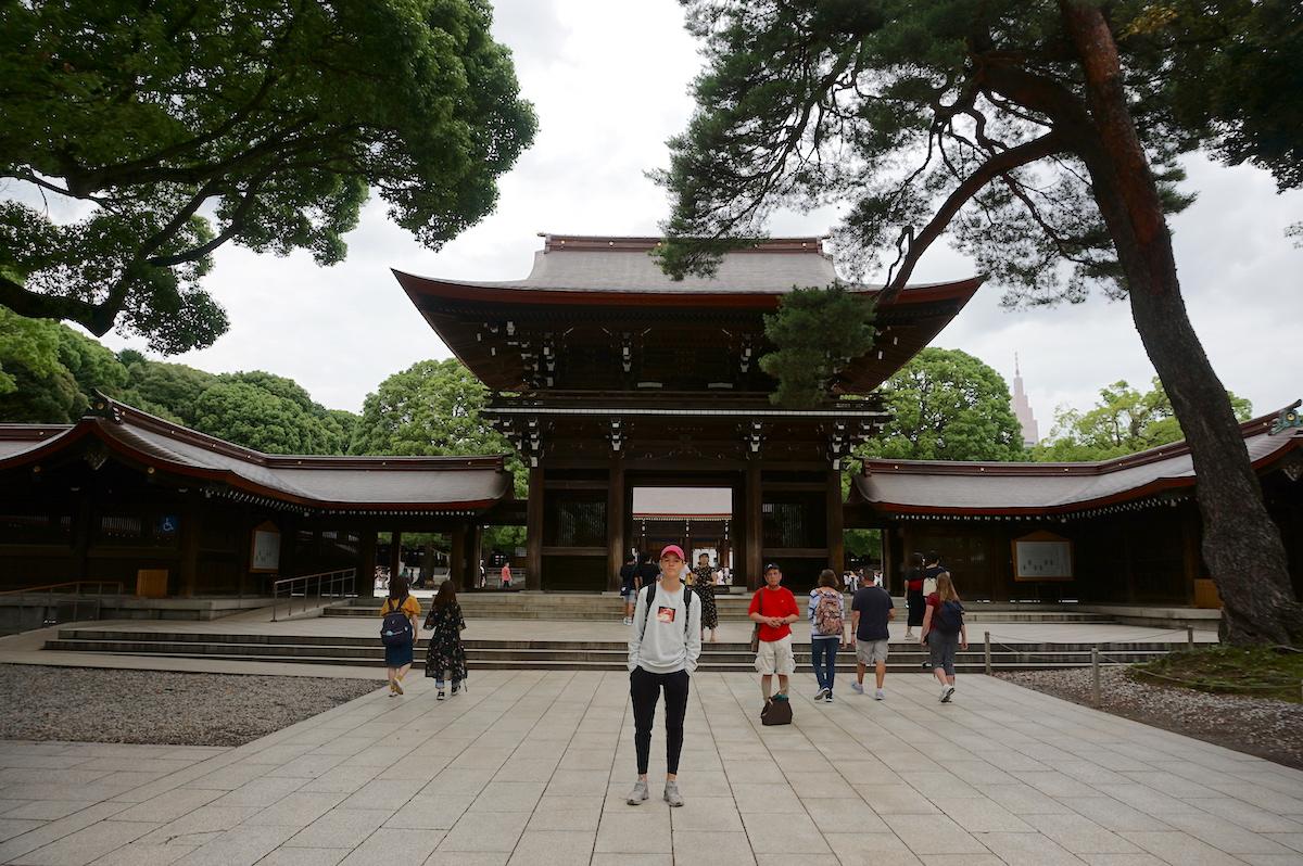 Tokio, Meiji-Schrein, tokio mit teenager