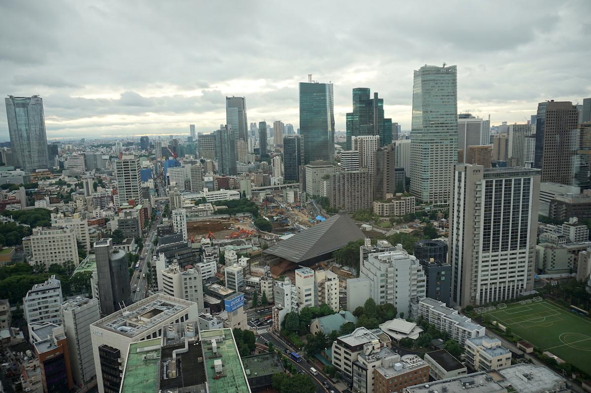 Blick vom Tokio Tower