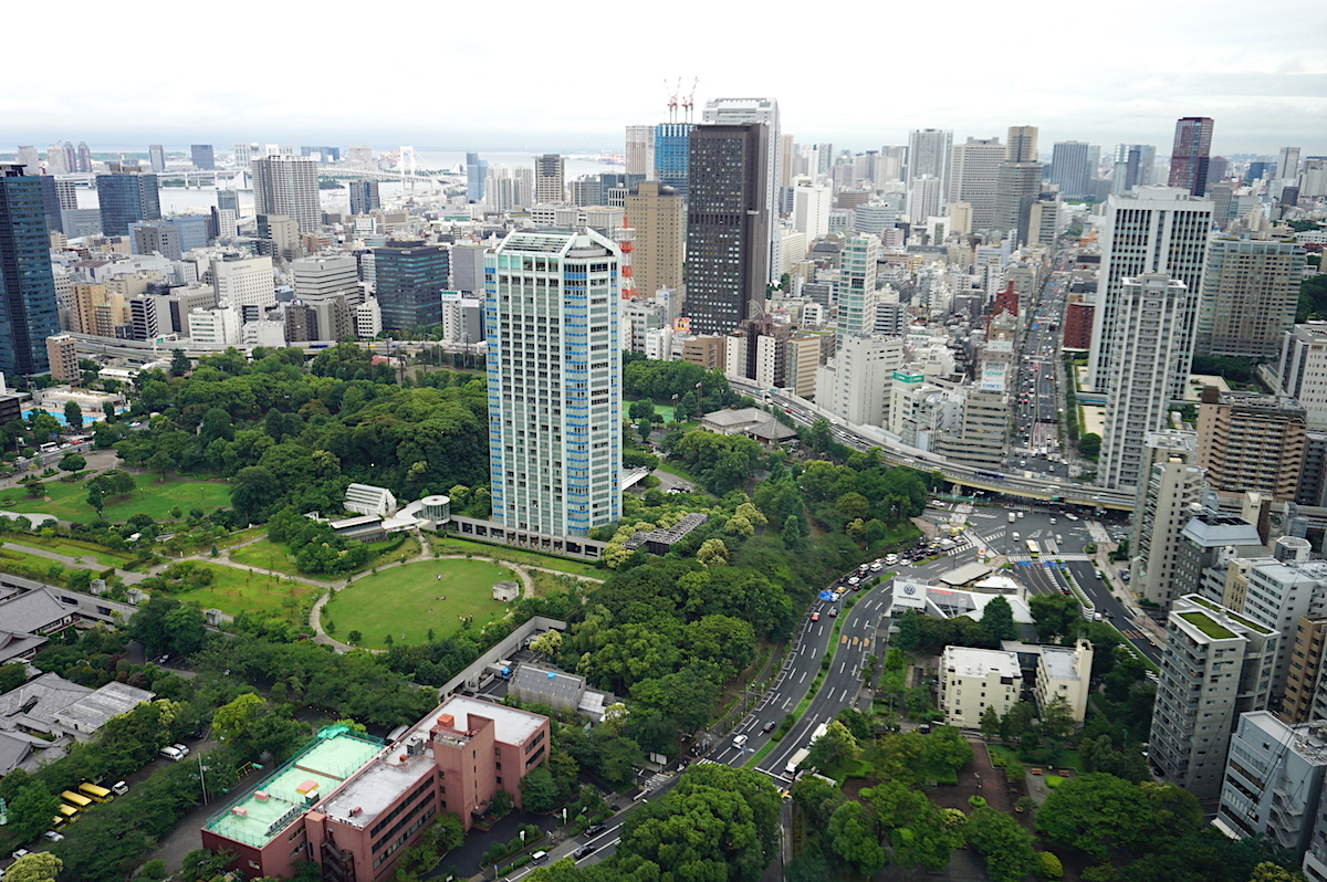 Blick vom Tokio_Tower