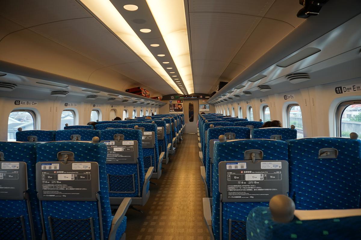 Japan, Shinkansen fahren