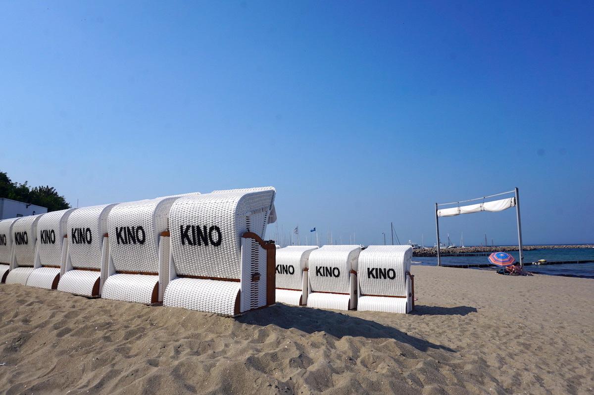 Kühlungsborn Sommerkino am Strand