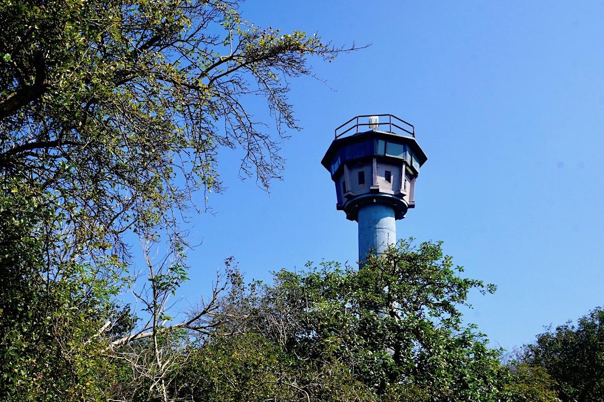 Ostseeradtour - Börgerende, Wachturm