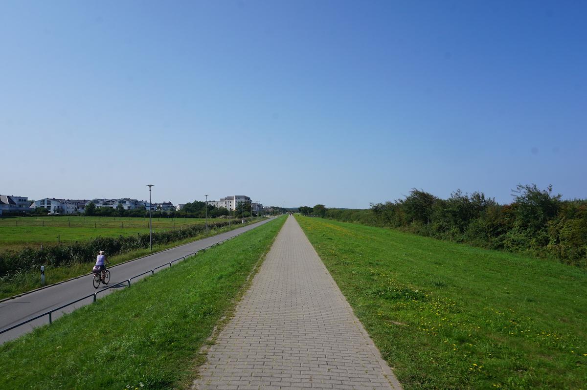 Ostseeradweg - Route Kühlungsborn - Warnemünde