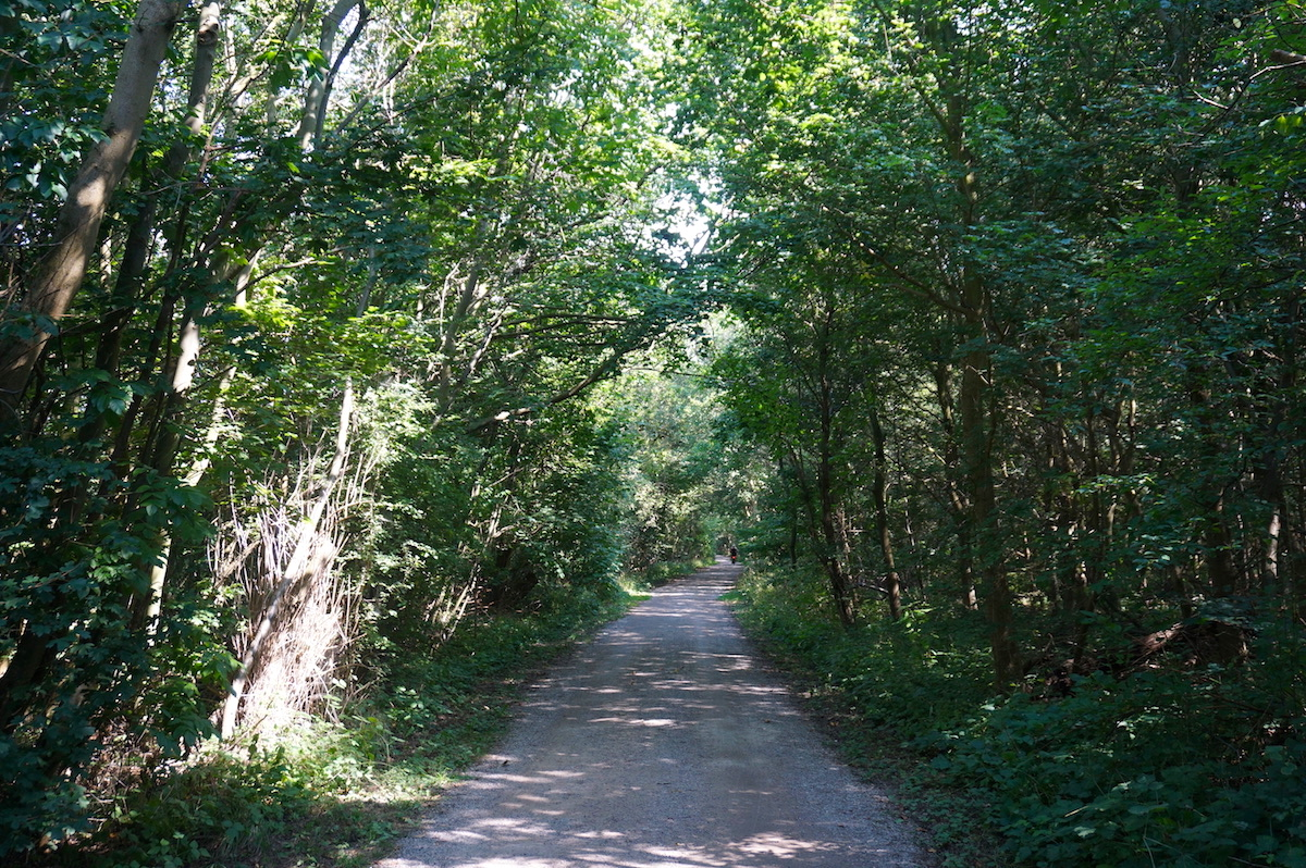 Ostseeradweg Warnemünde - Kühlungsborn, Route