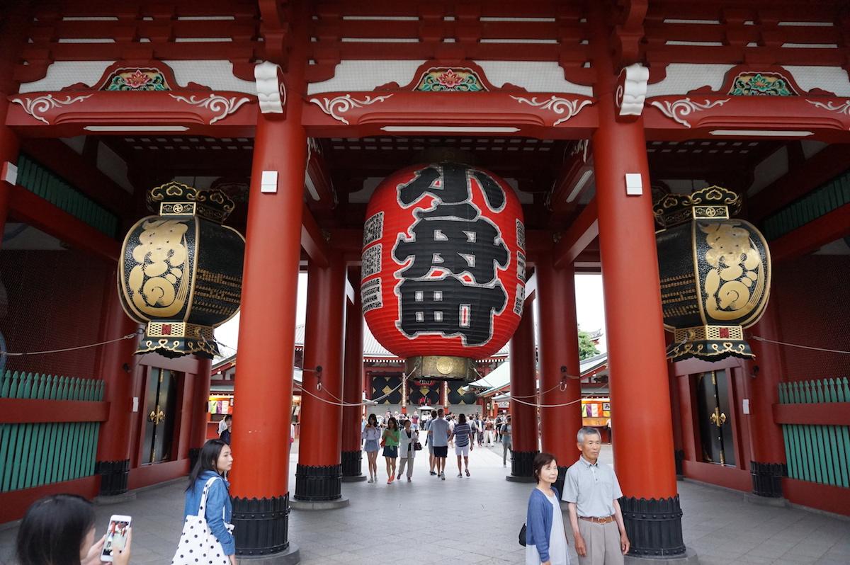 Tokio, Asakusa, Hozomon-Tor