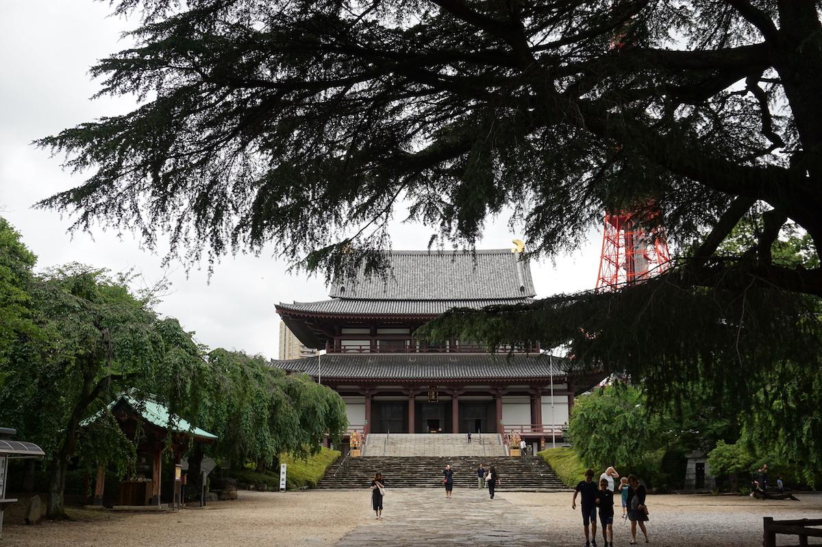 Tokio Tempelanlage Zojo-ji, Shiba Park